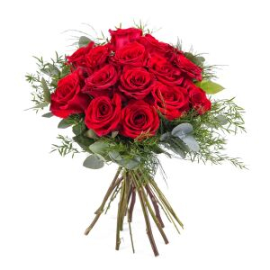 15 Short-stemmed Red Roses